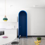 Retroscena apartment renovation by La Macchina Studio in Rome, Italy