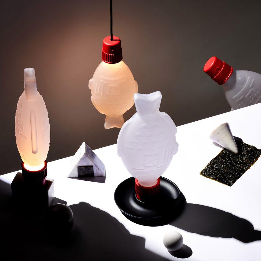 Light Soy Pendant Light by Heliograf