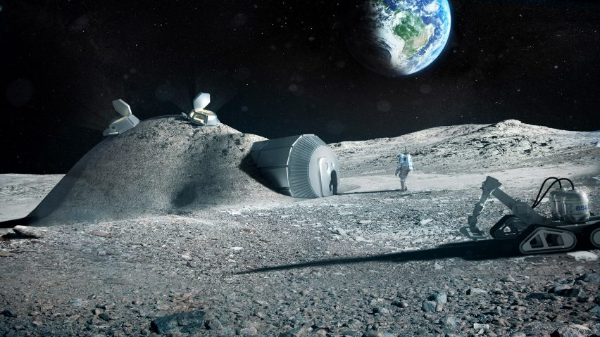 Foster+Partners teamed up with ESA in 2013 to design a lunar base