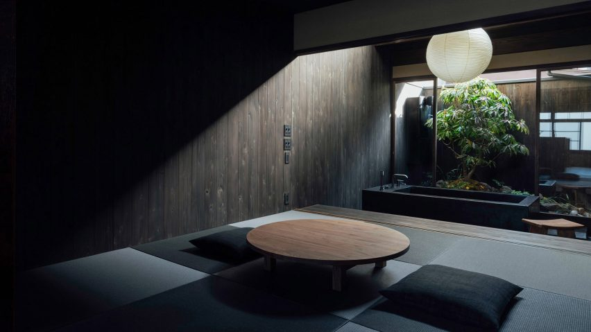 Japanese minimalist guesthouse
