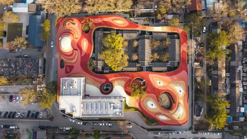 YueCheng Courtyard Kindergarten in Beijing by MAD