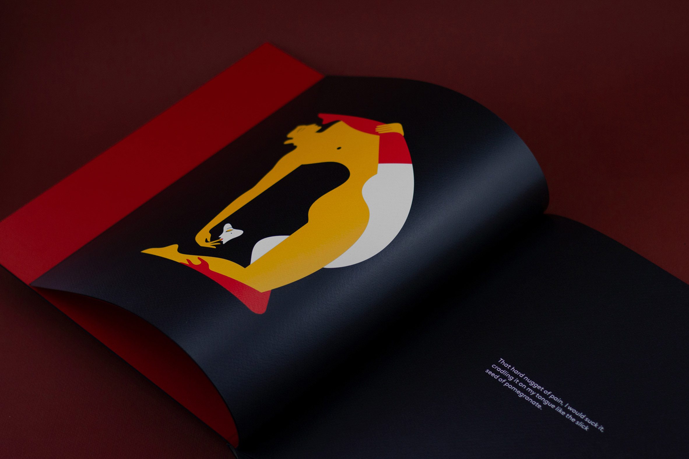 Letter D from Malika Favre's book Kama Sutra A-Z