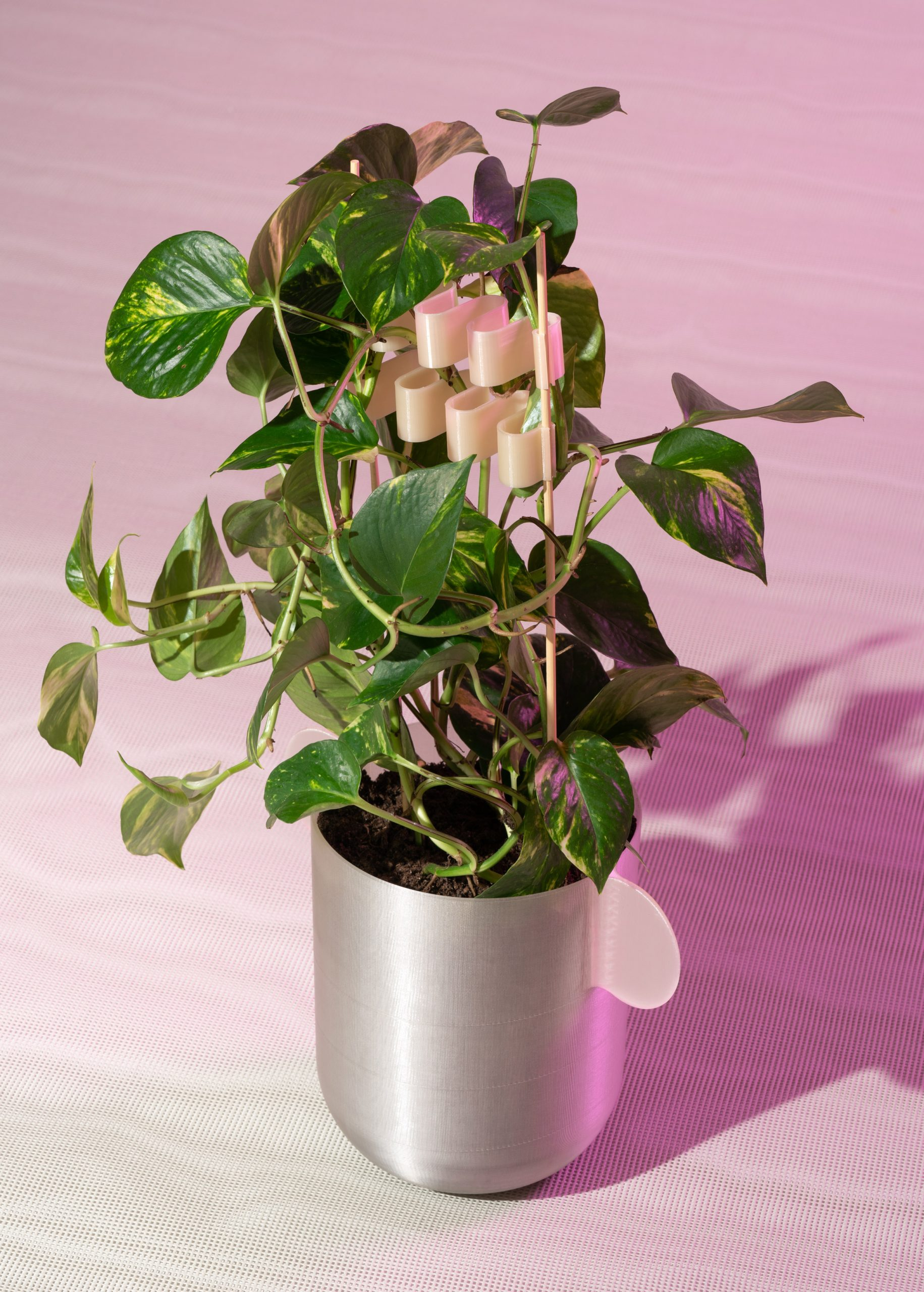 Flowerpot by Henriksson & Lindgren from Metabolic Processes for Leftovers exhibition