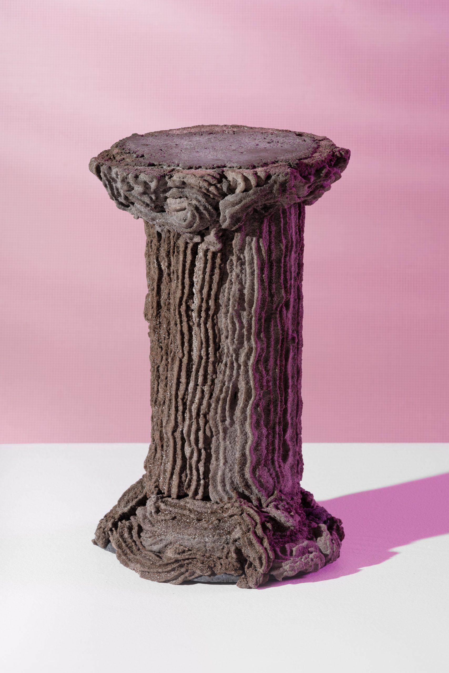 Pedestal by Kajsa Willner for Metabolic Processes for Leftovers exhibition
