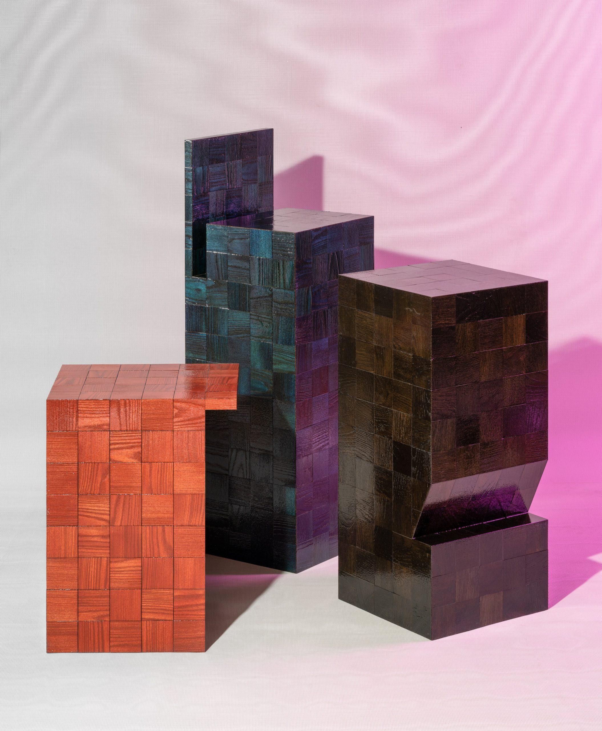 Pieces by Lab La Bla, Ballingslöv and Bonnie Hvillum