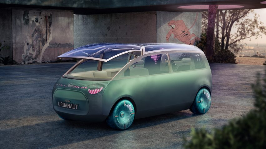 The Vision Urbanaut concept vehicle by MINI