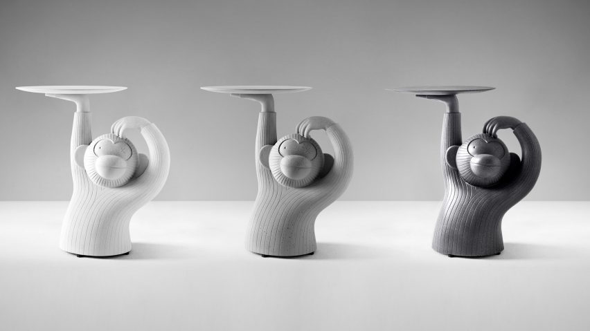 Monkey side tables by Jaime Hayon for BD Barcelona