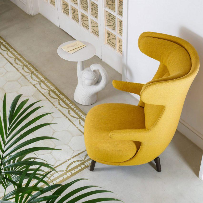 BD Barcelona, Fredericia and Bene showcase products on Dezeen Showroom