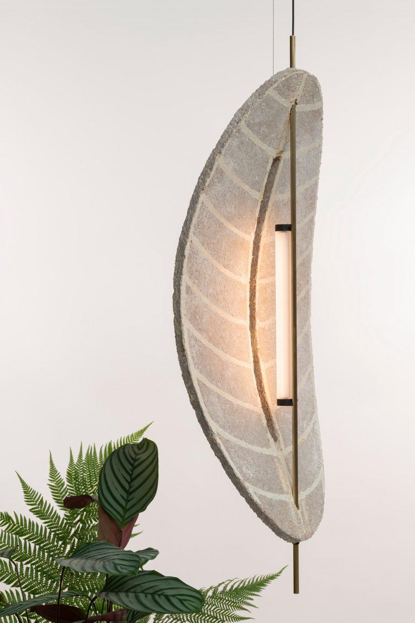 Side view of Folium light by Morgan Ruben
