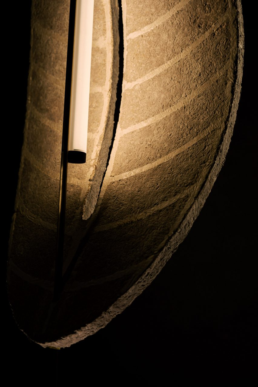 Detail of Folium light by Morgan Ruben