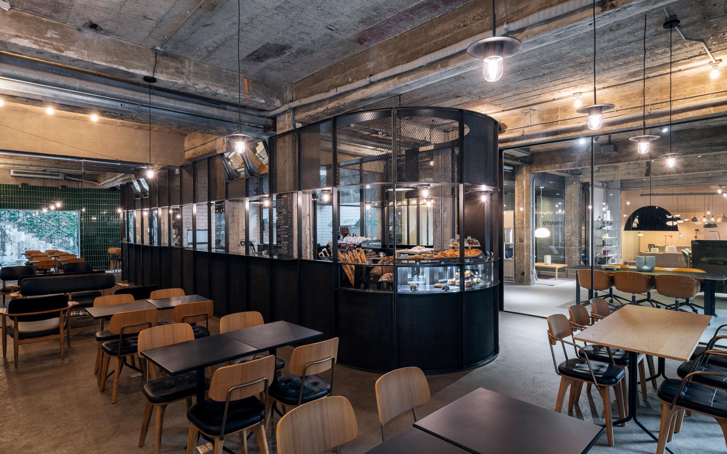 Cafe in Neri&Hu's office
