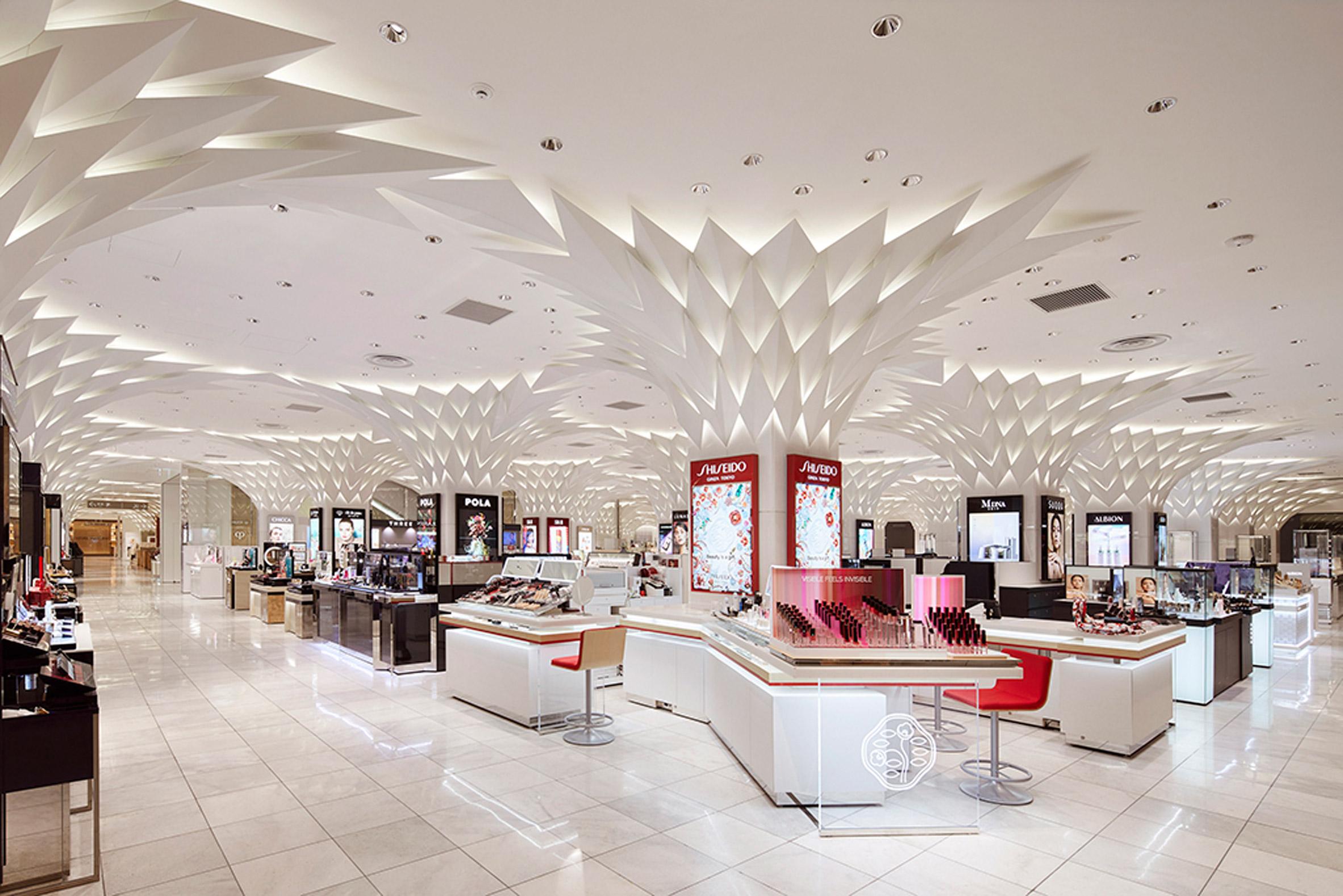 Nihombashi Mitsukoshi by Lighting Planners Associates
