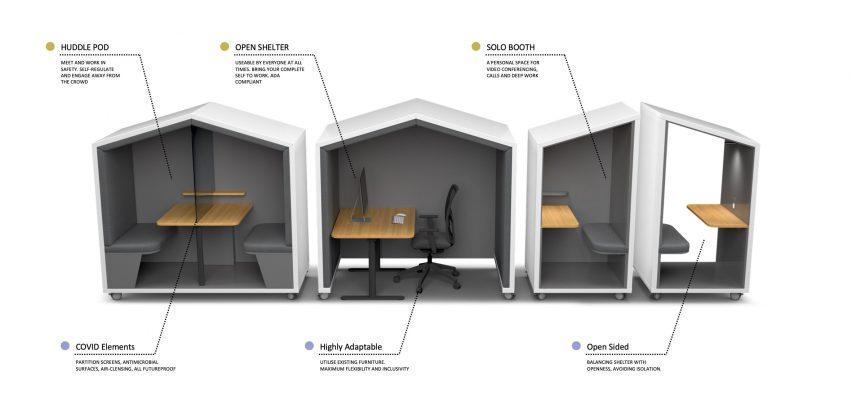 Nook pod workspace