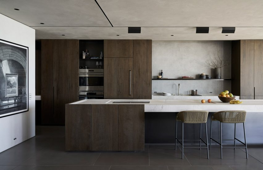 Kitchen of Ocean Drive apartment by MW Works in Miami, Florida