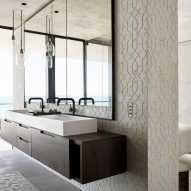 Interiors of Ocean Drive apartment by MW Works in Miami, Florida