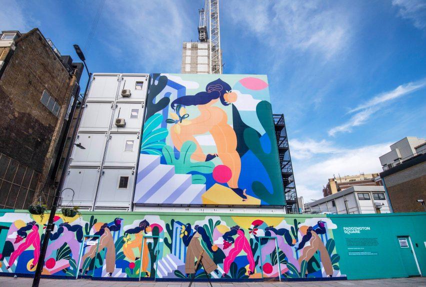 Kelly Anna's artwork for Paddington Square