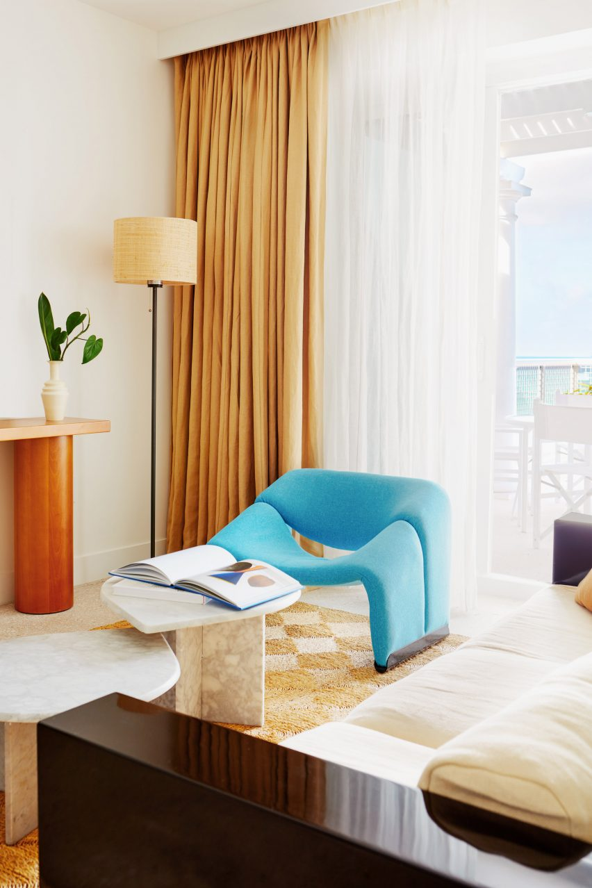 Guest room in Palm Heights Grand Cayman by Gabriella Khalil