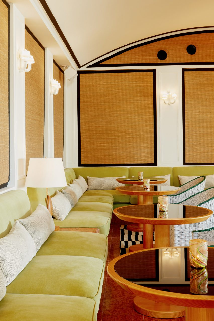 Lounge in Palm Heights Grand Cayman by Gabriella Khalil