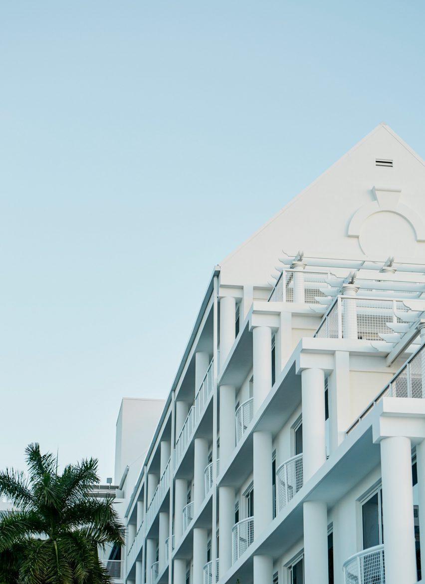 Palm Heights Grand Cayman hotel by Gabriella Kahlil
