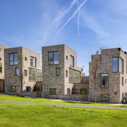 Rochester Way housing in Greenwich by Peter Barber Architects