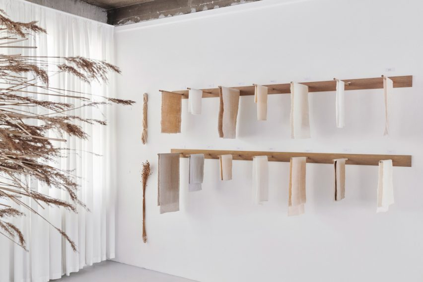 Exhibition on plant fibres in Copenhagen