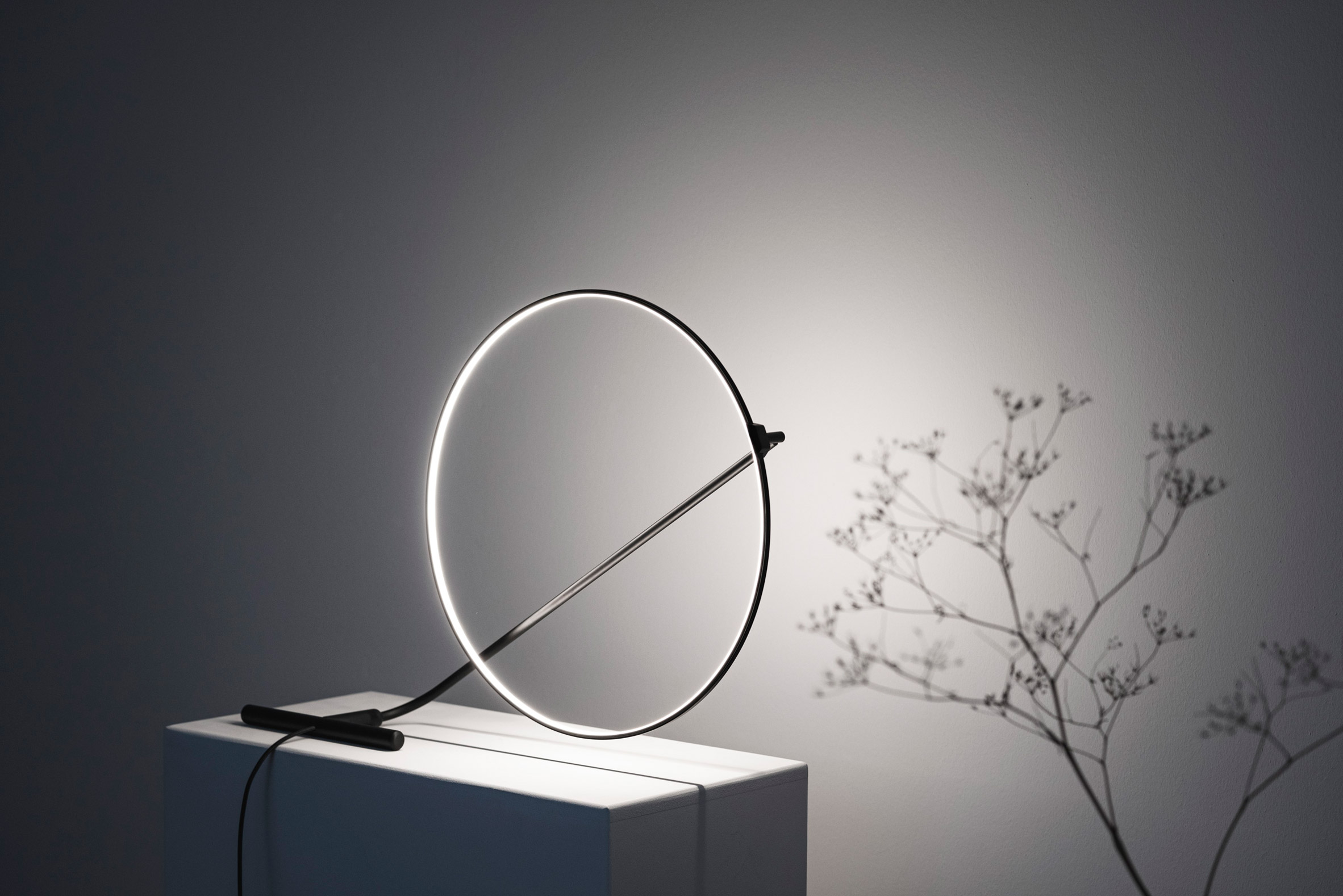 A view of Poise lamp by Robert Dabi