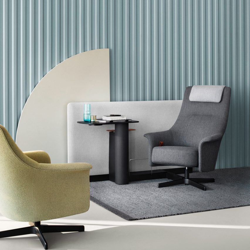 PORTS Task Lounge by Pearson Lloyd for Bene