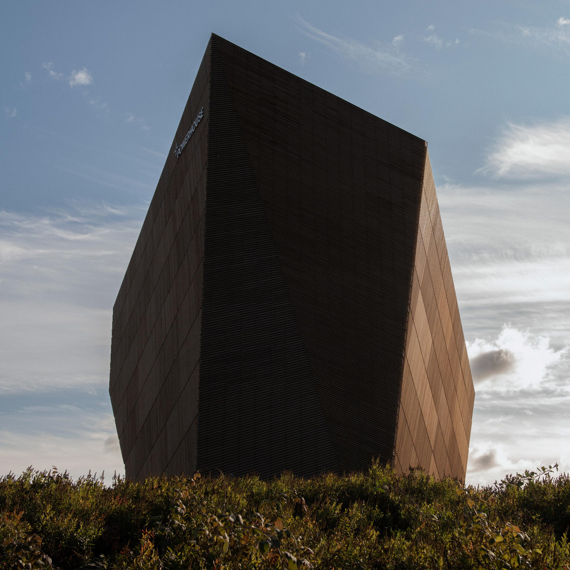The angular Powerhouse Telemark office