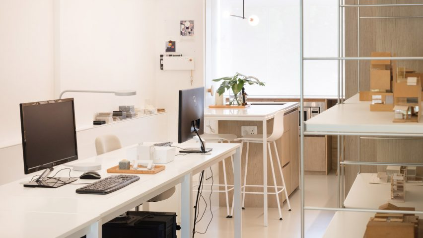 Office interior of Project #13 by Studio Wills + Architects