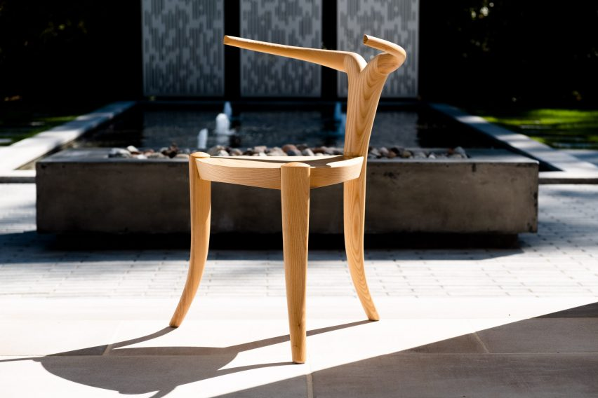 Nyala chair at TRNK's Provenanced exhibition