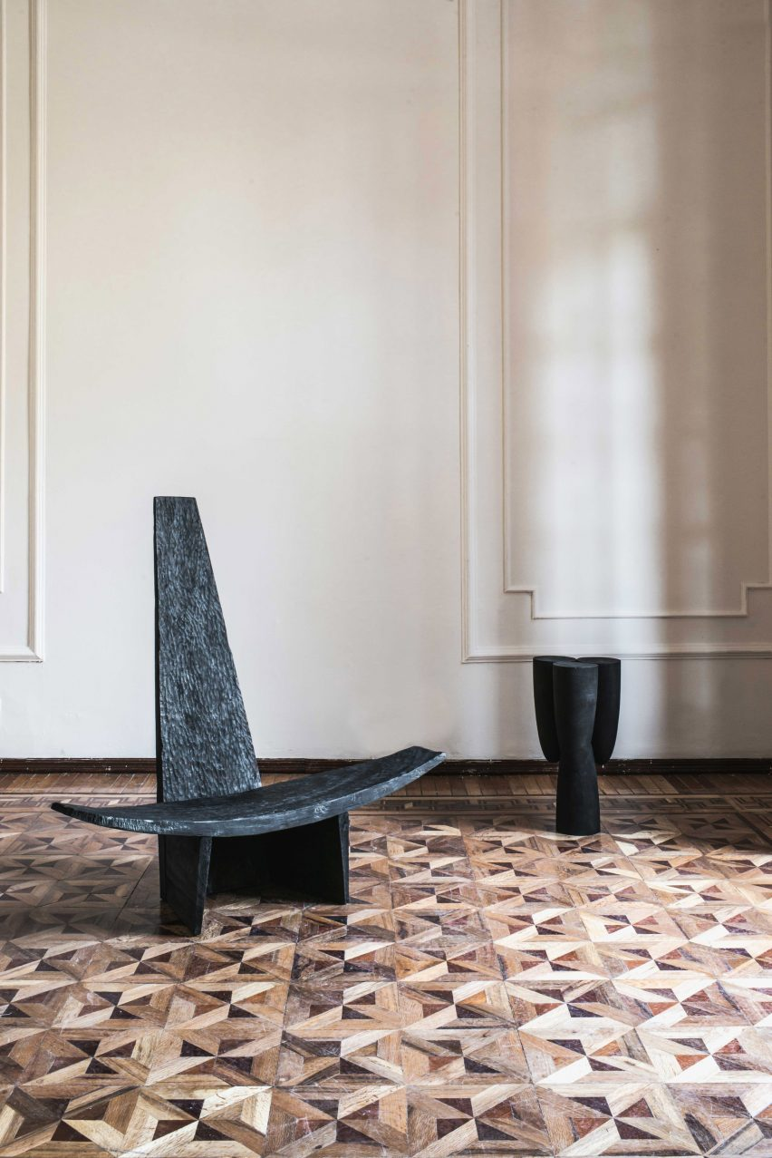 The Partera chair at TRNK's Provenanced exhibition