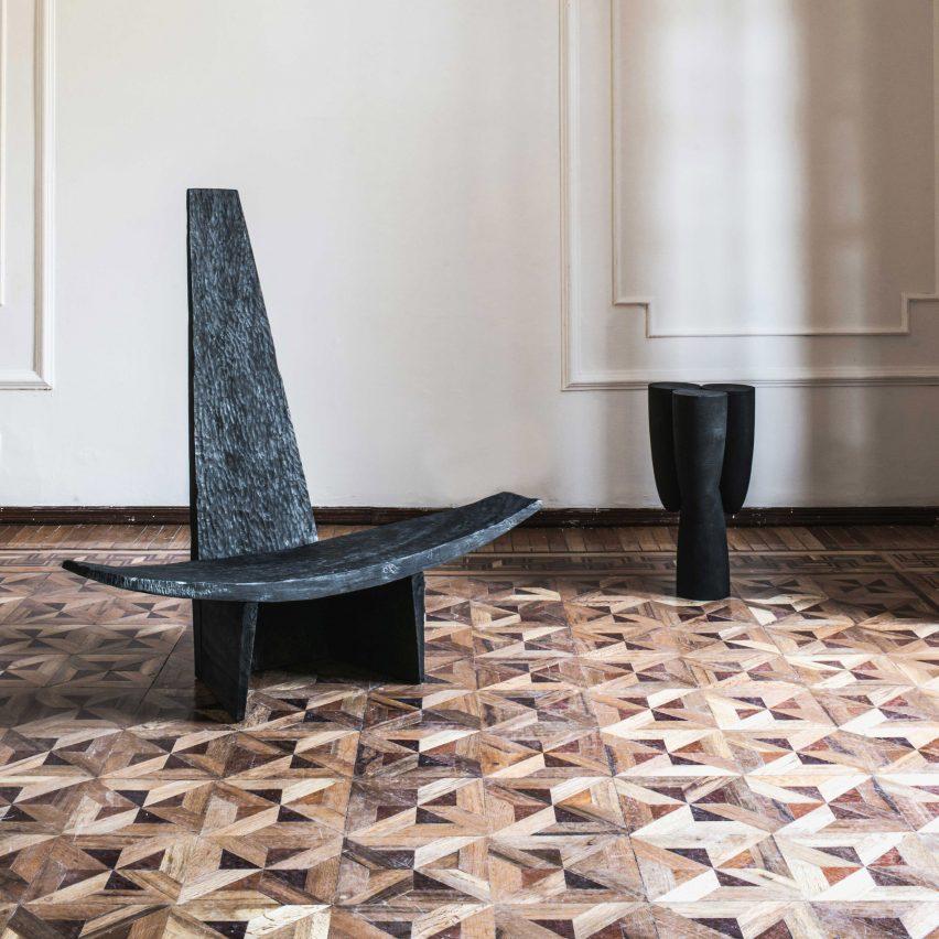 Partera chair by Ewe Studio