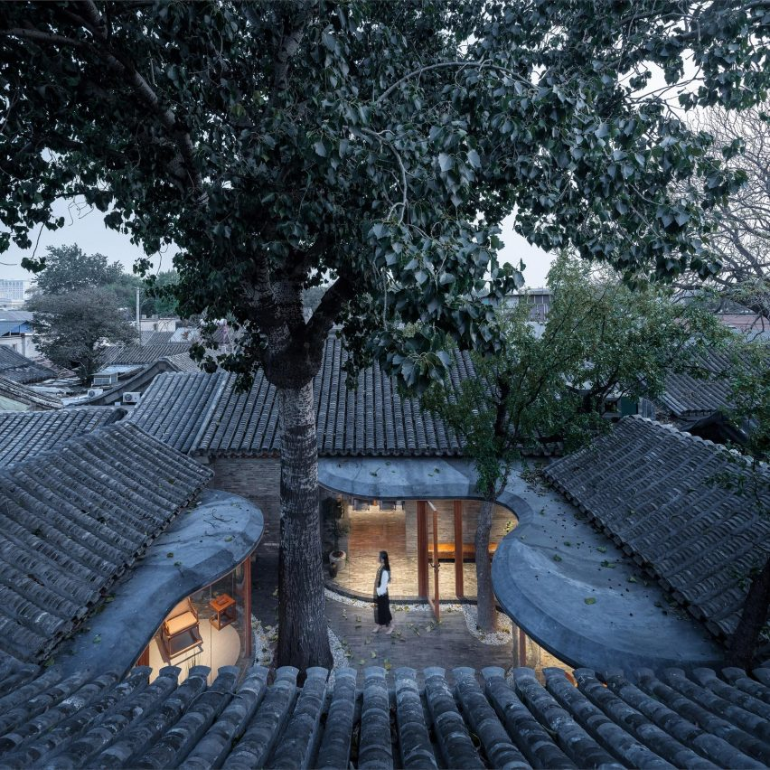 Dezeen's top 10 Chinese architecture projects of 2020: Qishe Courtyard, Beijing, by Arch Studio