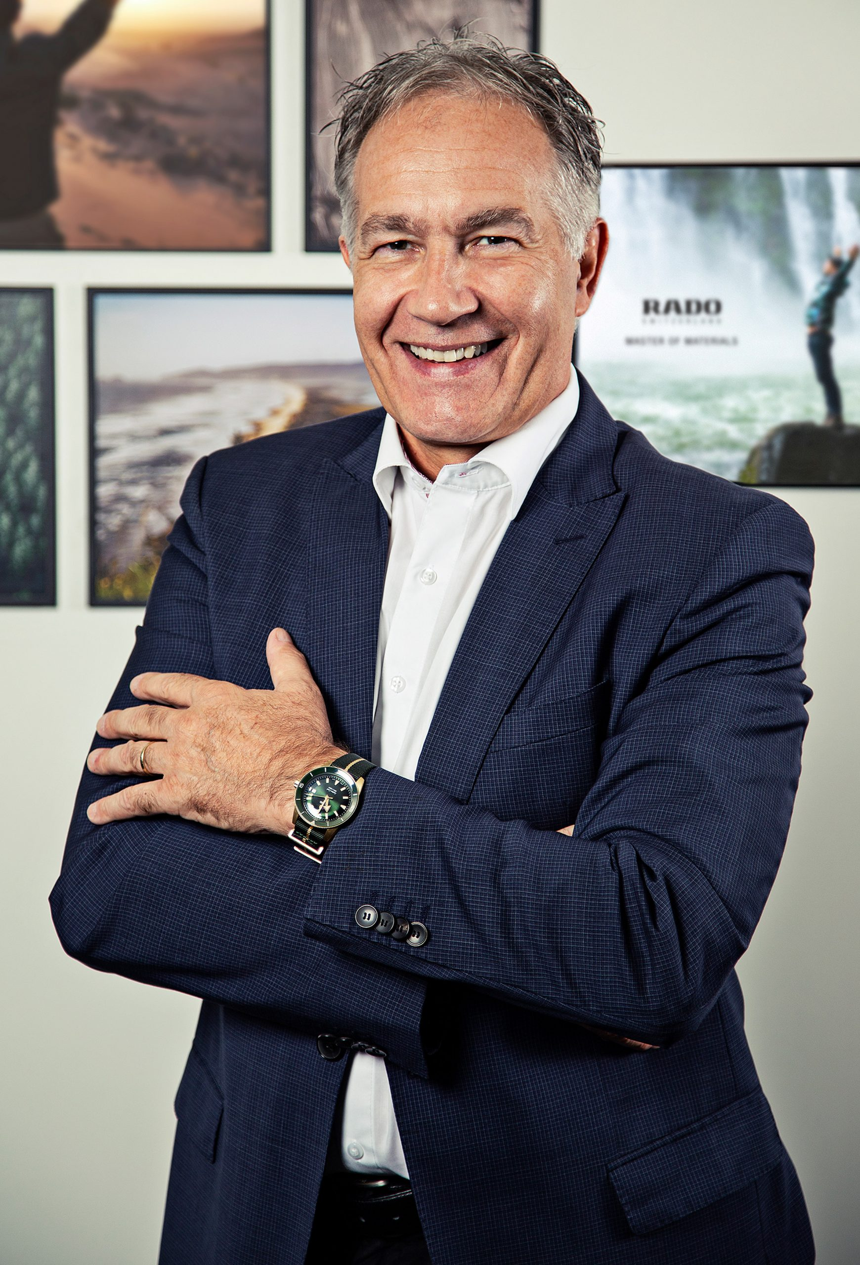 Adrian Bosshard, CEO of Rado