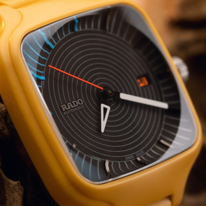 """Tej Chauhan's watch for Rado is informed by """"old sci-fi movies and pop culture"""""""