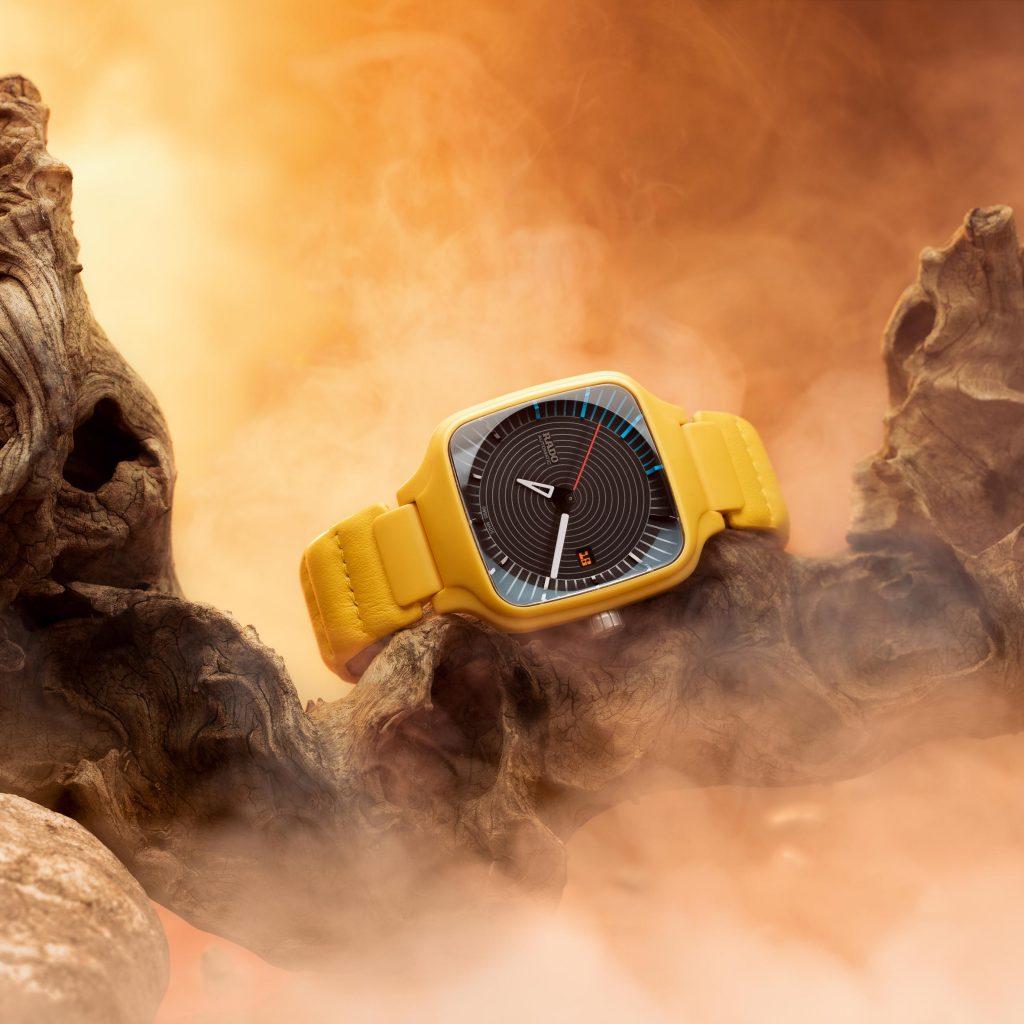 Tej Chauhan designs Rado watch for a science-fiction future