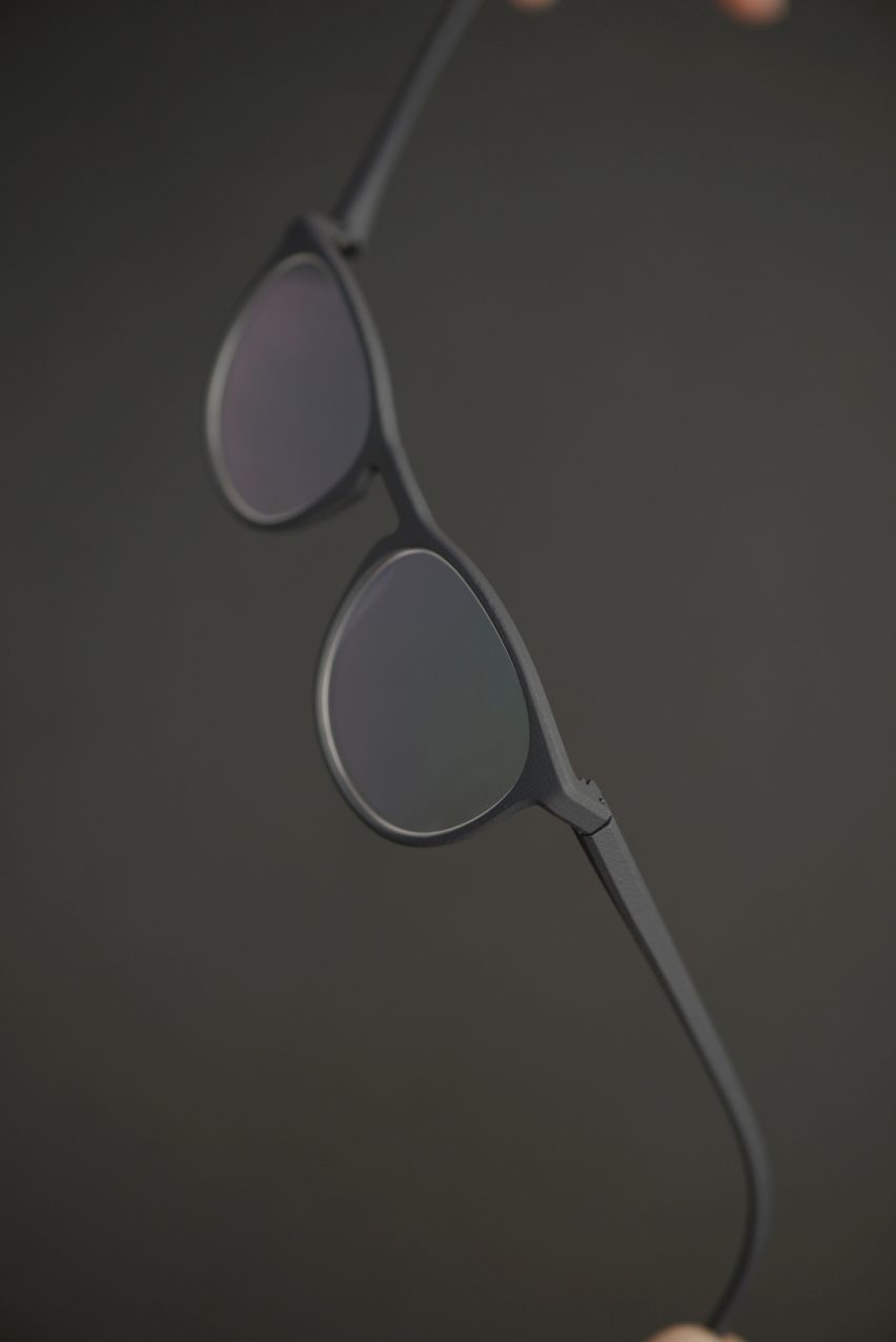 Substance glasses by Rolf have a Flexlock hinge