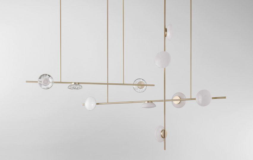 Ceto chandeliers by Ross Gardam