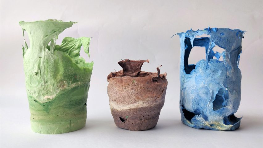 Vases from Sachi Tungare's Jugaad collection
