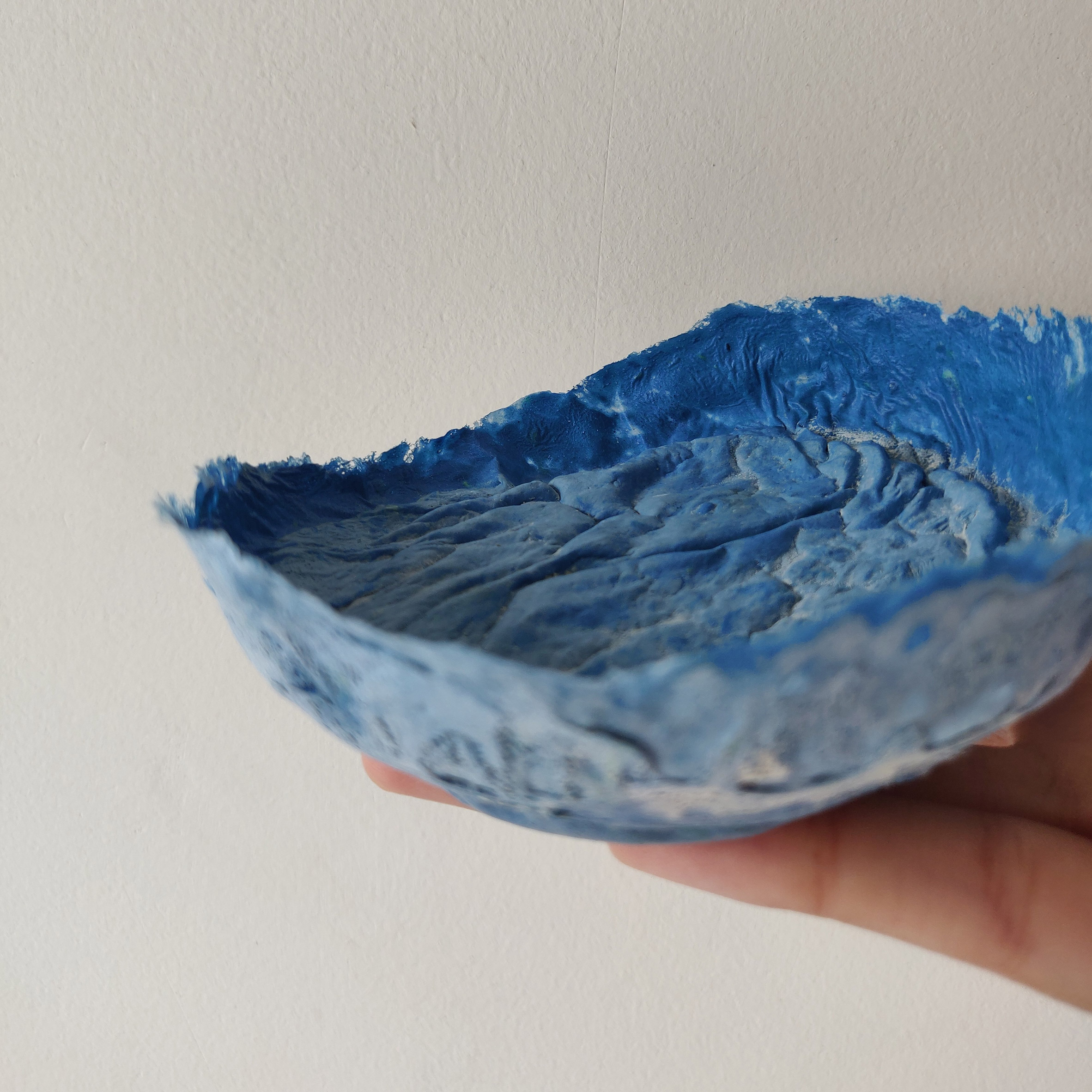 Blue bowl from the Jugaad collection