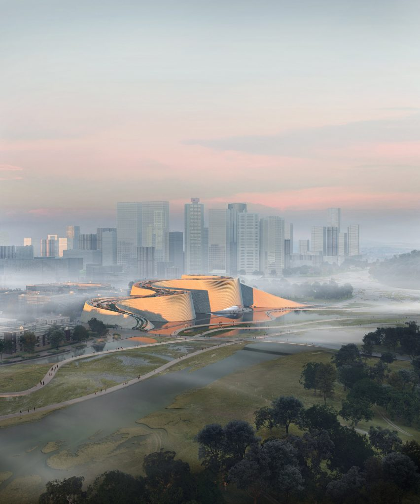 Shenzhen Natural History Museum by B+H, 3XN and Zhubo Design