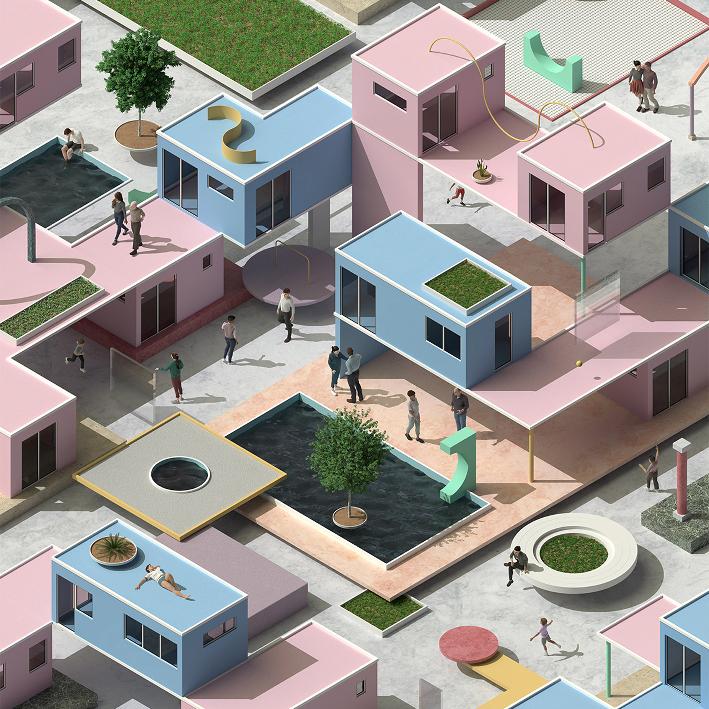 Space10 Imagine: Exploring the Brave New World of Shared Living report