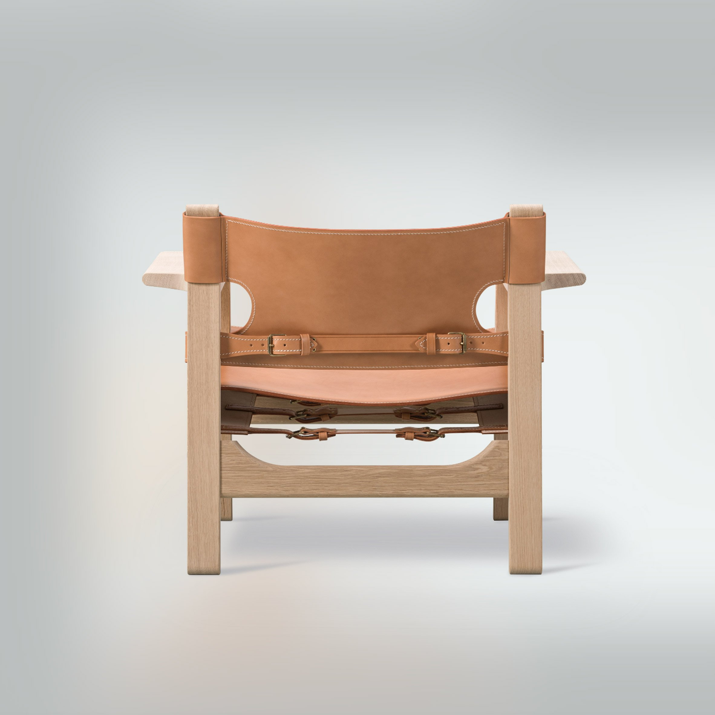Back of the Spanish Chair by Børge Mogensen for Danish brand Fredericia