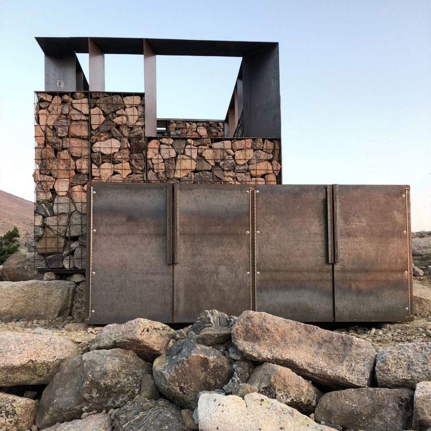 Longs Peak Privies by students of the Colorado Building Workshop