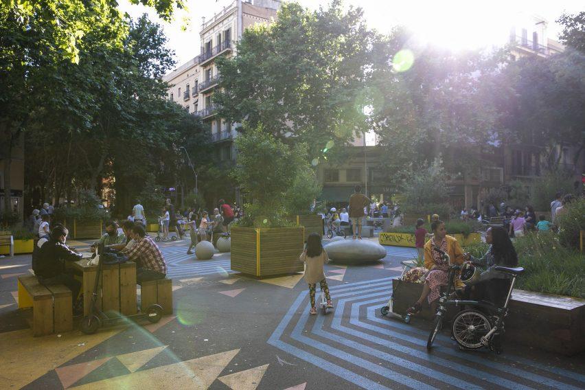 Photo of a the Sant Antoni superilla