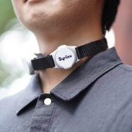 Syrinx is an artificial larynx that mimics the wearer's former voice