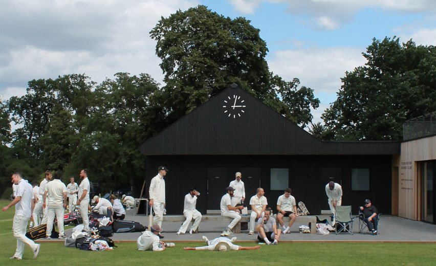 Teddington Cricket Club by Reed Watts