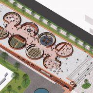 Ground floor of Adjaye Associates' proposed Thabo Mbeki Presidential Library