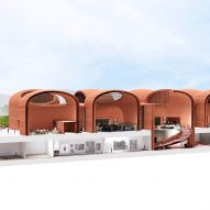 Perspective Section of Adjaye Associates' proposed Thabo Mbeki Presidential Library