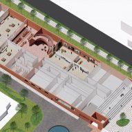 Lower Level of Adjaye Associates' proposed Thabo Mbeki Presidential Library